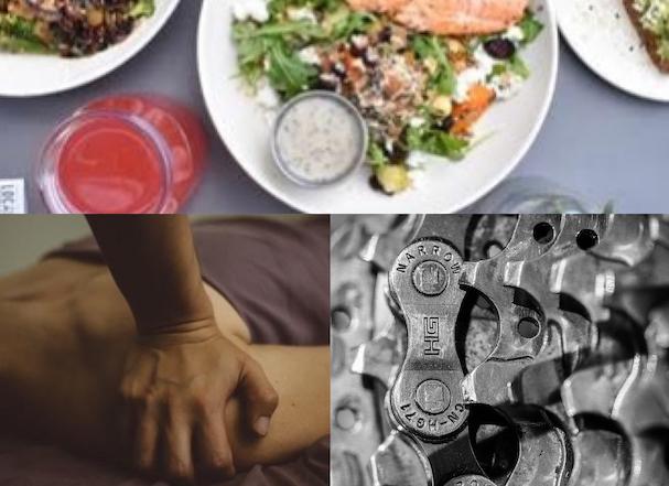 食事、治療、メンテナンス