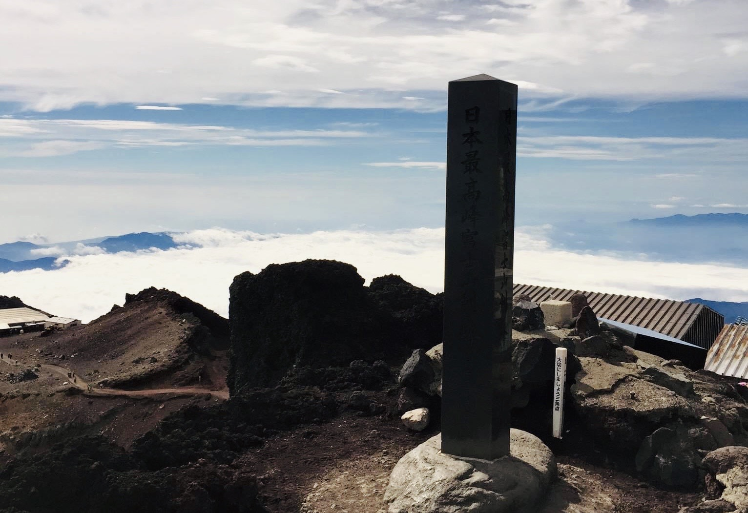 剣ヶ峰山頂